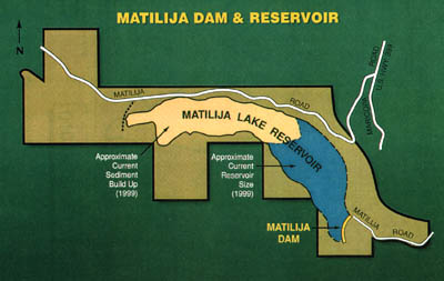 Matilija Dam and Reservoir System