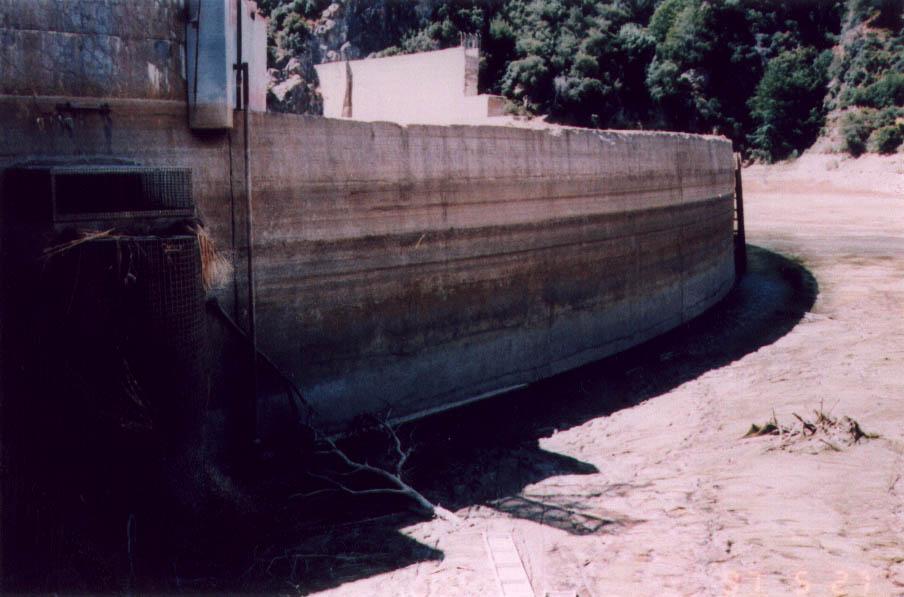 Dam sediment