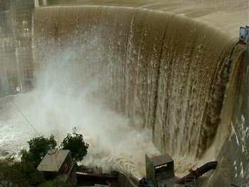 Overview of dam spilling