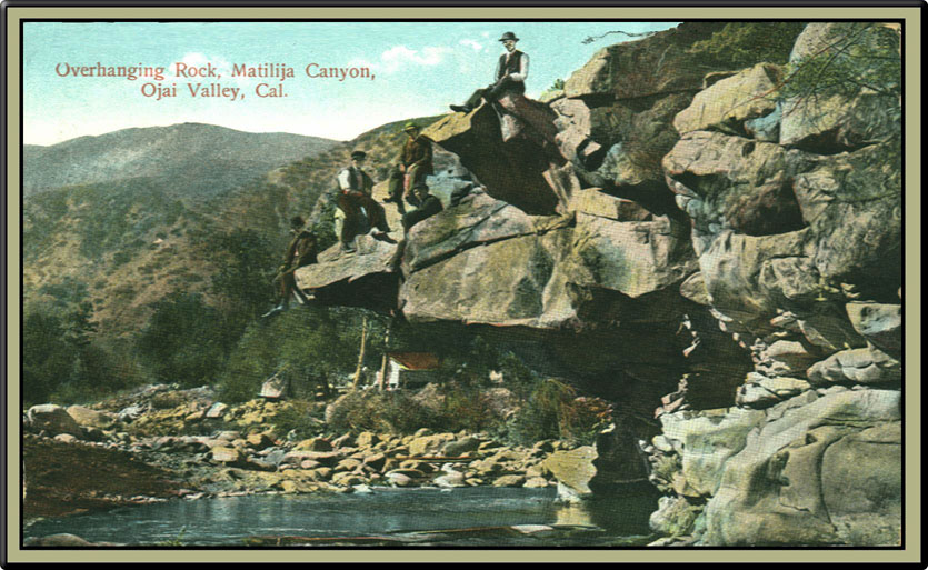 Postcard of Hanging Rock